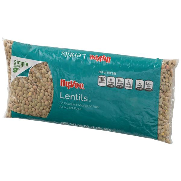 Hy-Vee All Natural Lentils