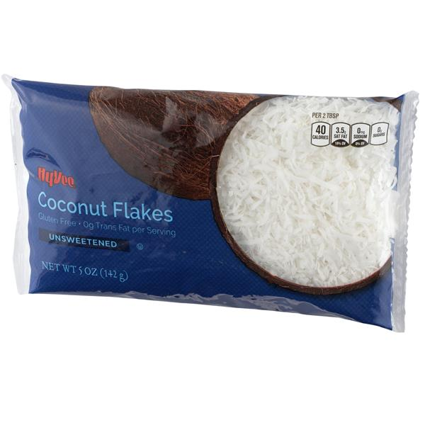 Hy-Vee Unsweetened Coconut Flakes