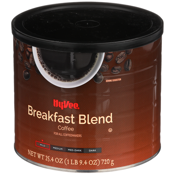 Hy-Vee Breakfast Blend Ground Coffee