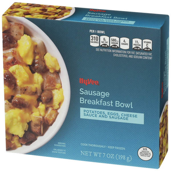 Hy-Vee Sausage Breakfast Bowl