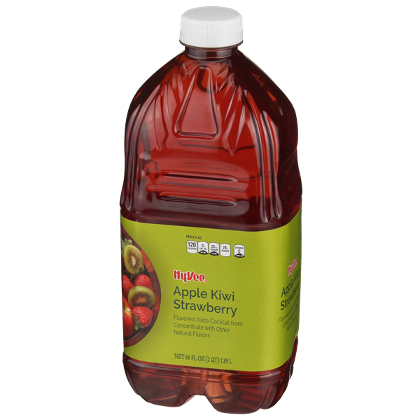 Hy-Vee Apple Kiwi Strawberry Flavored Juice Cocktail