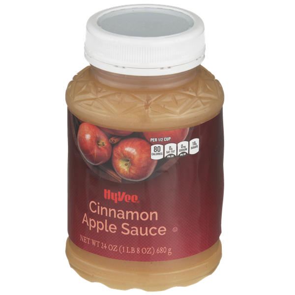 Hy-Vee Cinnamon Apple Sauce