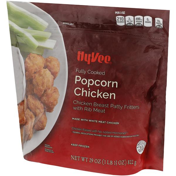 Hy-Vee Fully Cooked Popcorn Chicken