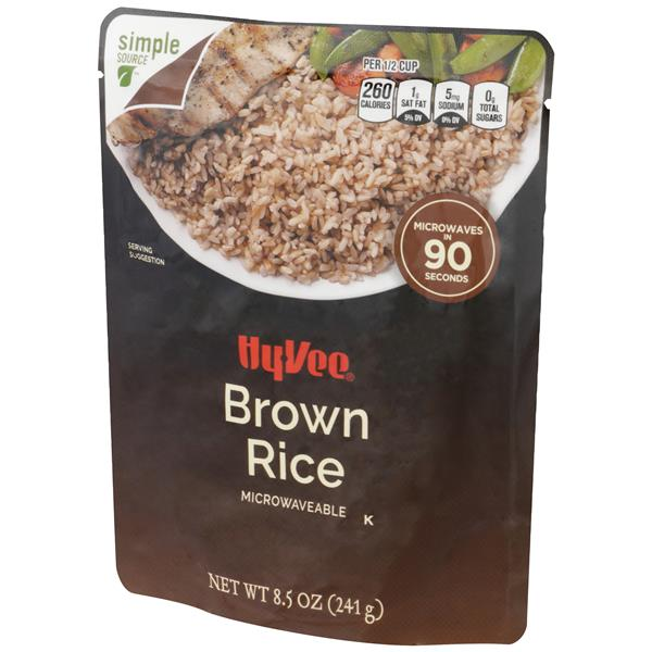 Hy-Vee Brown Rice Microwaveable