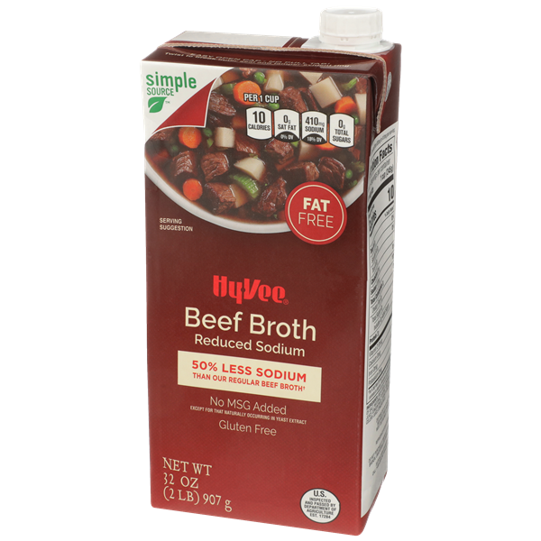 Hy-Vee Beef Reduced Sodium Broth